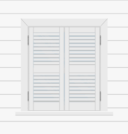Functional Exterior Shutters