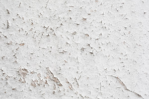 Peeling wallpaper or paint