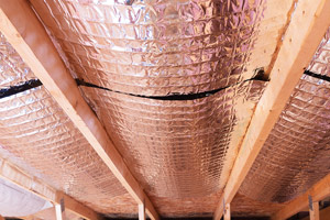 reflective radiant heat barriers