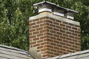roof debris and chimney caps