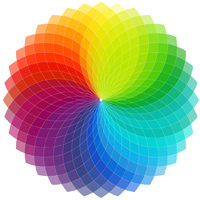 Work with the Color Wheel