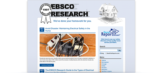 EBSCO Research Blog